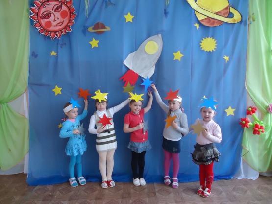 Сценарий о космонавтике в детском саду